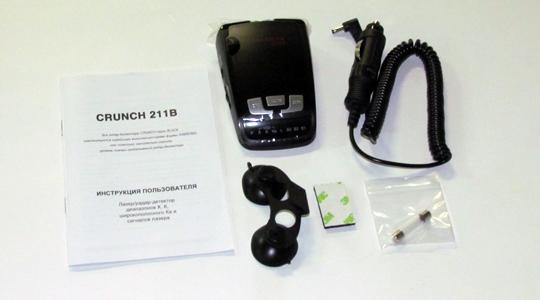 Инструкция К Антирадару Crunch 211B